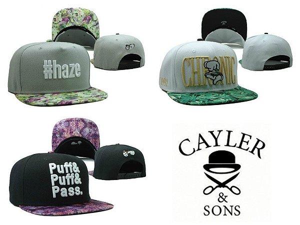 Bonés - CAYLER & SONS ( Diversos Modelos )