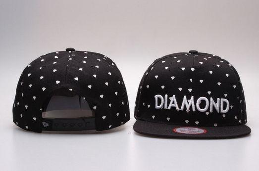 Boné Snapback Diamond - Diversas Cores
