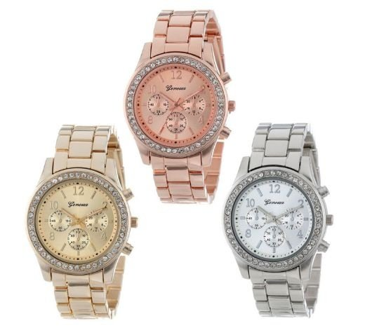 Relógio Feminino - Quartz Chronograph