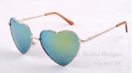 Óculos Feminino De Coração - Diversas Cores