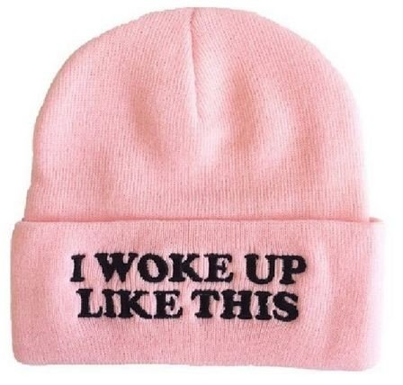 Touca Feminina - I Woke Up Like this