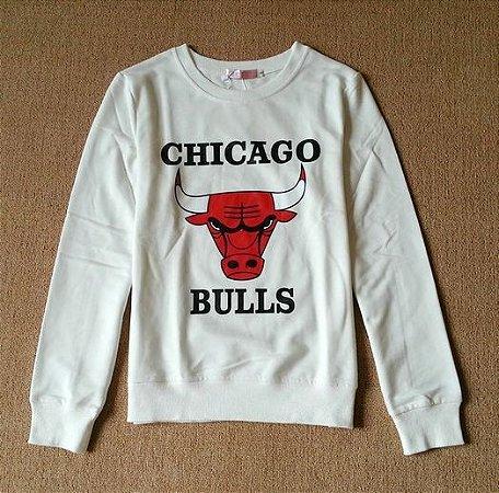 Moletom Feminino CHICAGO BULLS (Diversas Cores)