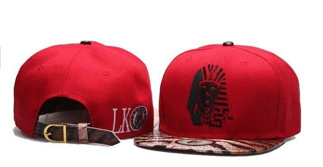Boné LAST KINGS Vermelho ONE & Leopard - Strapback
