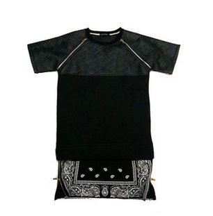 Camiseta Bandana COURO Oversized - UNISSEX