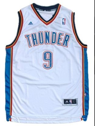 Regata - OKLAHOMA CITY NBA Adidas Basquete BRANCA