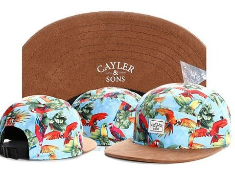 Boné Cayler & Sons - PANEL FLOWER