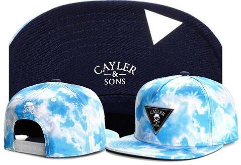 Boné Snapback Cayler & Sons - SKY