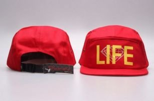 Boné 5 Panel - DIAMOND LIFE RED