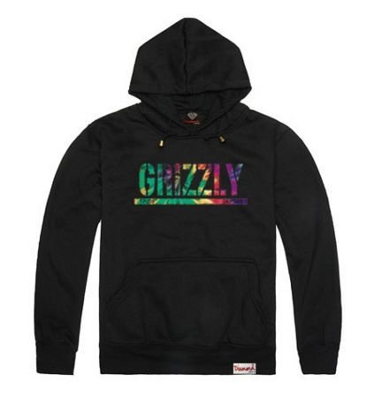 Moletom Grizzly / Diamond Supply Basic Font - ( Diversas Cores )