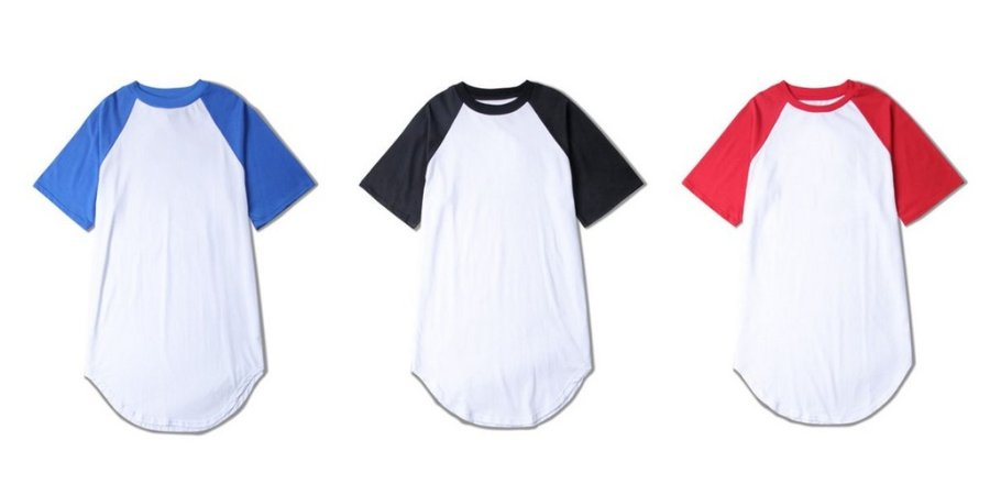 Camiseta Reglan Oversized - Diversas Cores