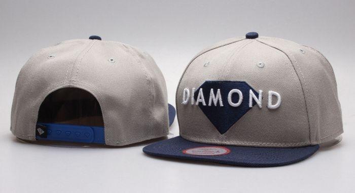 Boné Diamond Supply CO. - CINZA
