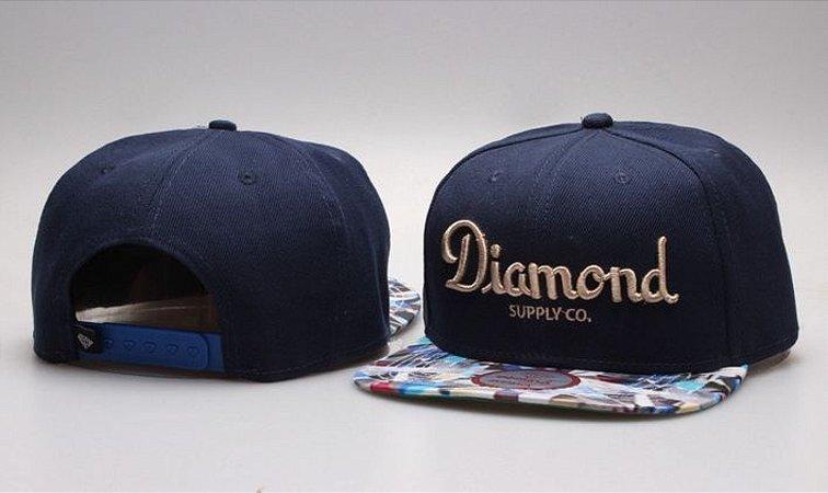 Boné Diamond Supply CO. - Navy CLASSIC