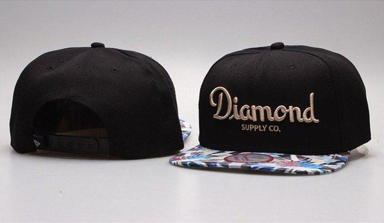Boné Diamond Supply CO. - Preto CLASSIC