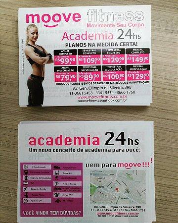 Folheto/Flyer - 20x30 - 2.500 unidades