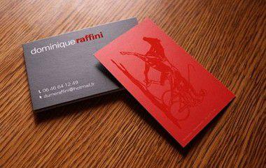 Cartão de Visita - Couché 300 gr - Laminação Fosca + Verniz Localizado