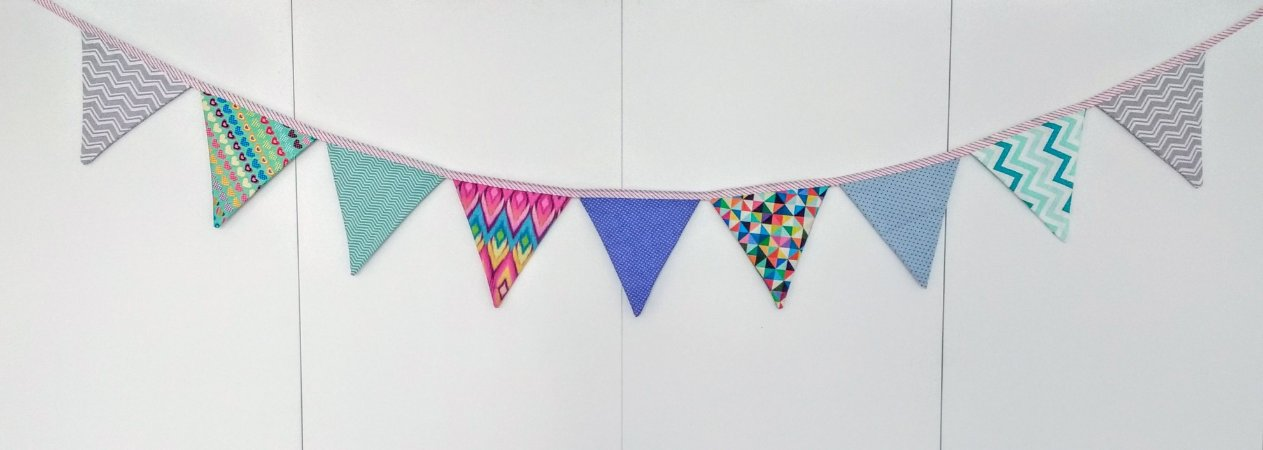 Bandeirolas Coloridas