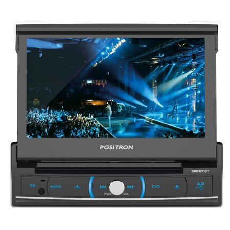DVD Player Automotivo Pósitron SP6320BT com Tela 7