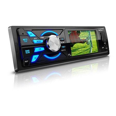 "DVD Automotivo Multilaser Player 3"" Rock TV Usb Aux SD"