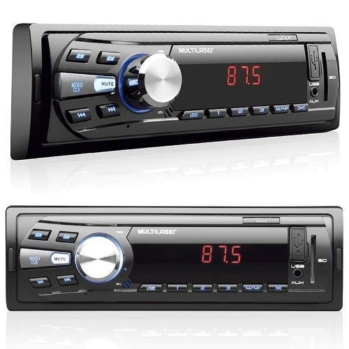 Radio Mp3 Player Automotivo Multilaser Soul P3294 Usb