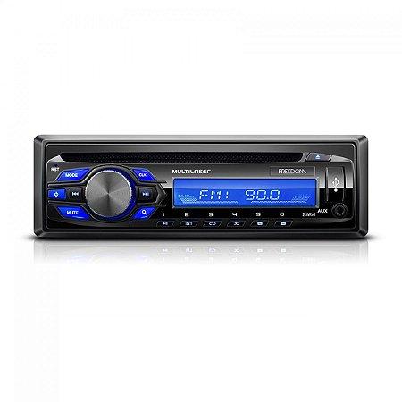 Radio Cd player Freedom Mp3 Multilaser P3239