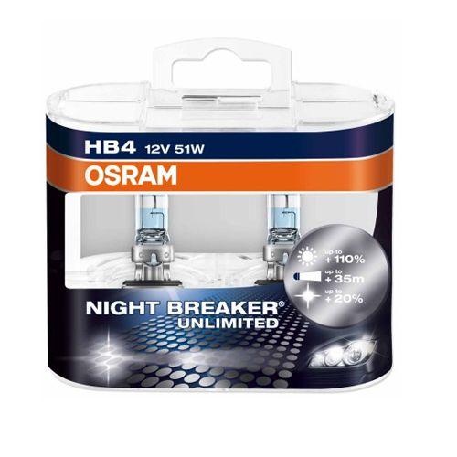 Lâmpada Osram HB4 9006 12V 51W Night Breaker
