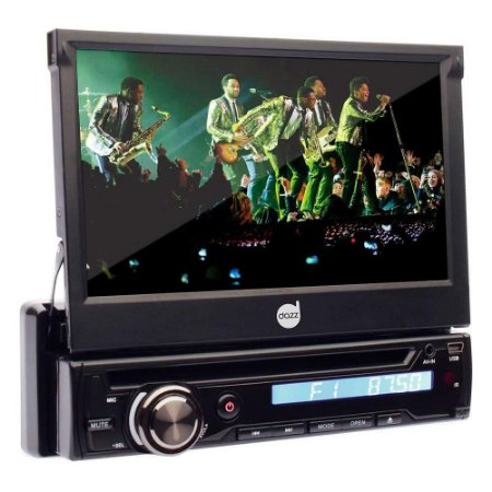 DVD Player Dazz 7 Pol BT Retratil