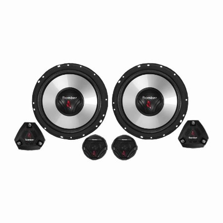 "Kit 2 Vias Bomber 6"" 100W RMS Two Way Up Grade"