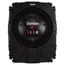 "Caixa Selada Slim Amplificada Bomber Subwoofer 10"""" 175w Rms"
