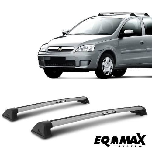 Rack Eqmax New Wave Corsa 2002 a 2012 Prata