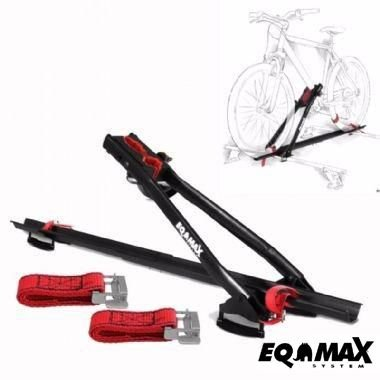 Rack Transbike Teto Eqmax Velox Aço Suporte Para 1 Bike