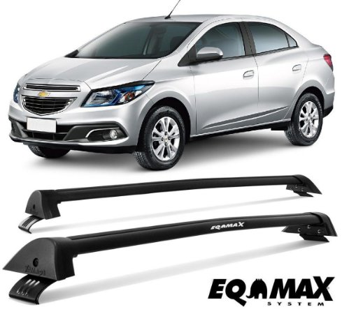 Rack Eqmax New Wave Prisma LT, LTZ, Advantage 2013 Preto