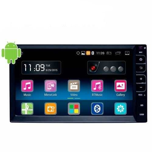 "Central Multimidia Caska 7"" Universal Smartmidia Android"
