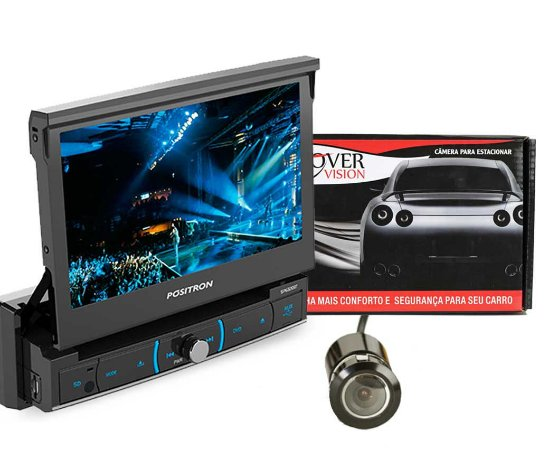 DVD Positron Sp6320 Bluetooth + 1 Camera re 22.5mm