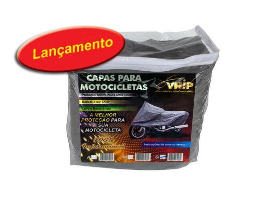 Capa VHIP Para cobrir Moto Impermeável s/Forro Tam M