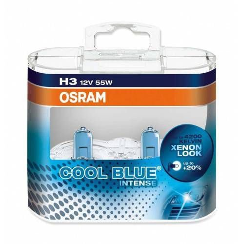 Lâmpada H3 12V 55W Cool Blue Intense 4.200K 64151CBI
