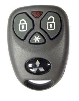 Alarme MITSUBISHI original acompanha 2 controles  - 12Volts