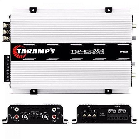 Modulo Taramps 400 Rms Ts-400x4 Mini Digital 4 Canais Stereo