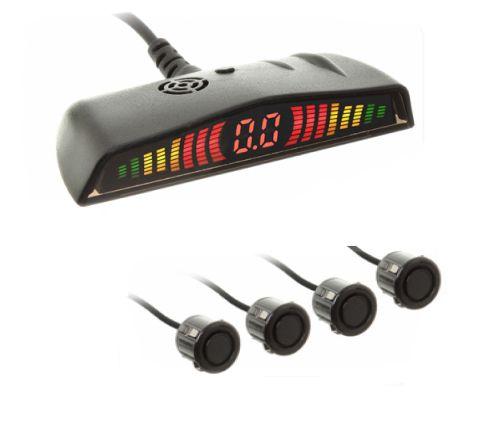 Sensor Re Estacionamento modelo 6104 4 Pontos Preto