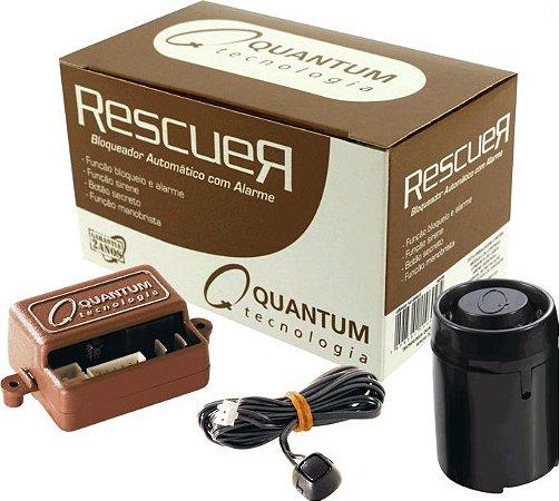 Bloqueador Quantum Automotivo Veicular Rescuer Com Sirene