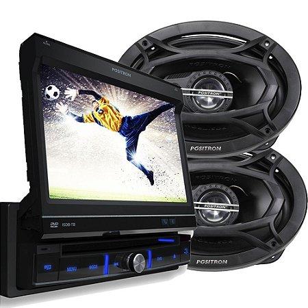 Kit DVD autmotivo SP6700 + Alto falante ATP6950