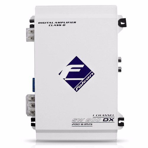 Modulo Amplificador Falcon SW800DX 1 Canal 200W RMS 2 Ohms