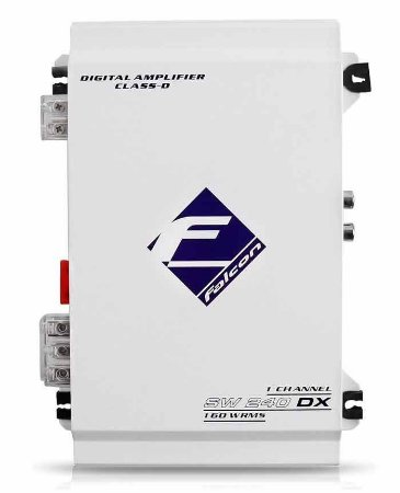 Modulo Amplificador Falcon SW240DX 1 Canal 160W RMS 2 Ohm