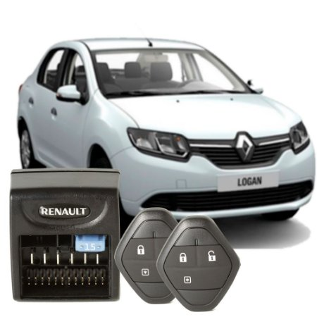 Kit Alarme mais trava original Renault Logan 2014