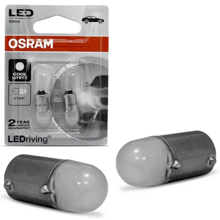 Par Lâmpada Osram 69 Led 3750CW 12V 10W 3893