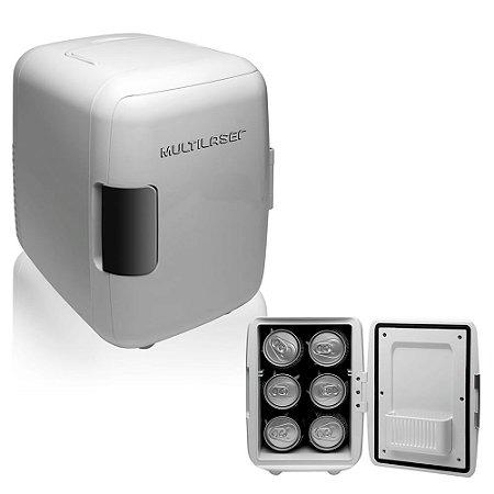 Mini Geladeira Portátil Multilaser 12V 4 Litros 110V