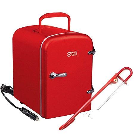 KIT Refrigerador Portátil + Trava Segurança Auto Algema