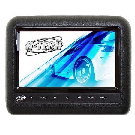 Monitor 7 Polegadas Leitor DVD Acoplável No Encosto - Preto
