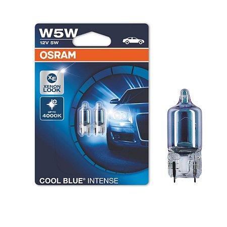 Lâmpada Osram W5W 12V 5W Cool Blue Intense