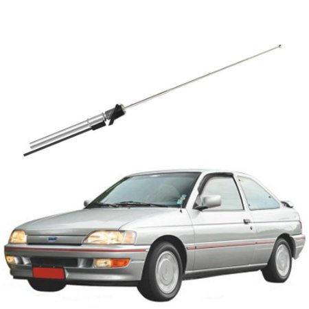 Antena Tele 4 Estágios VW e Ford Cromada