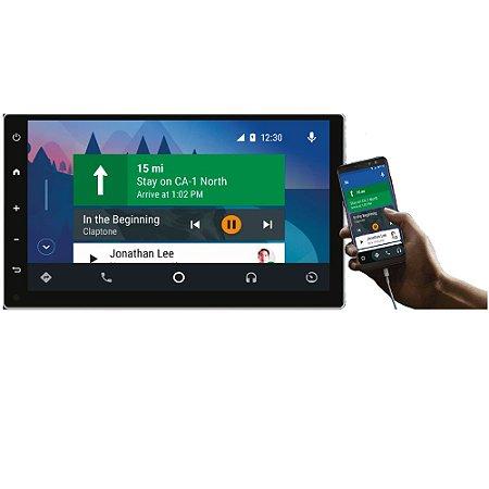 DVD Player 6,7 Polegadas Universal Android Bluetooth AM/FM